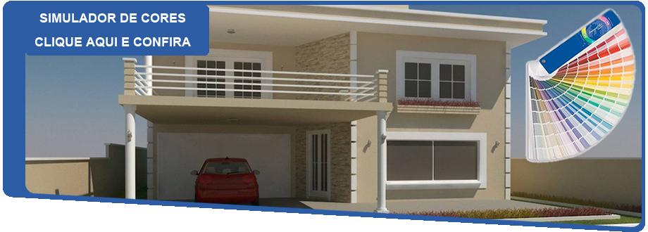 Simulador de cores para casa pictures to pin on pinterest for Simulador amueblar casa
